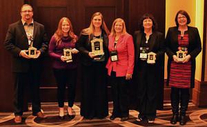 Left to right: Scott Engman, Shannon Rumohr, Denise Kapalko, Vicki Herrell, Darlene Stephens, & Stephanie Walker